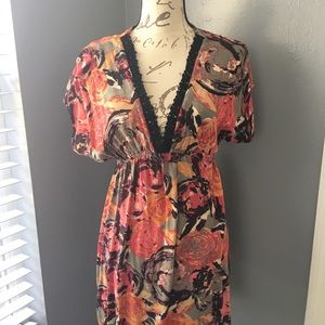 Floral Beach cover up or Tunic!!!